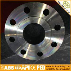 export ansi forging slip on flanges, cl150 carbon steel SORF flanges
