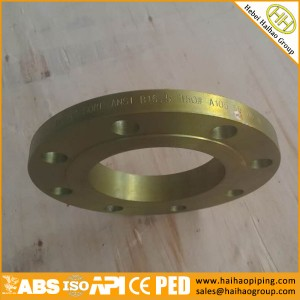 Export Plywood Pallets Packing SLIP ON FLANGES ANSI B16.5, CL150 CL300 CL600 SOFF SORF FLANGES