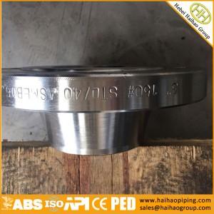 manufacture ANSI carbon steel flanges, CL150 300 400 600 900 1500 2500 weld neck flanges