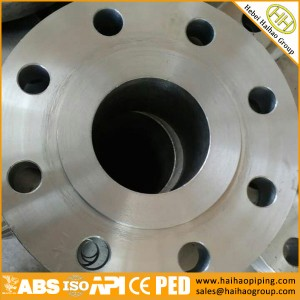 munufacture low price ANSI standard weld neck flanges, cl150 cl300 WNRF flanges