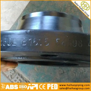 sale high quality weld neck forging flanges, ASME/ANSI WNRF flanges