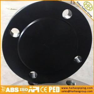 manufacture ANSI carbon steel forging flanges CL600 900 1500 blind flanges