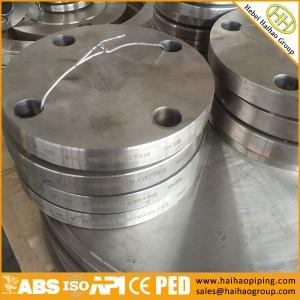 sale high quality carbon steel blind flanges, ANSI standard class300 BLRF flanges