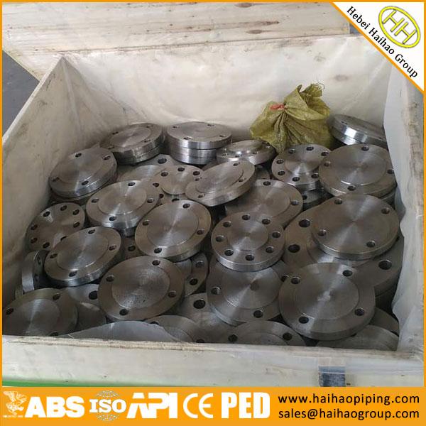 sale ANSI B16.5 class150 blind flanges, high quality carbon steel BLRF BLFF flanges