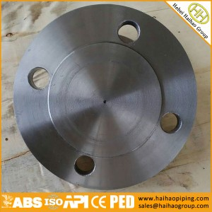 Manufacture Low Price Carbon Steel Blind flanges ANSI B16.5, FORGED BLRF, BLANK Flanges