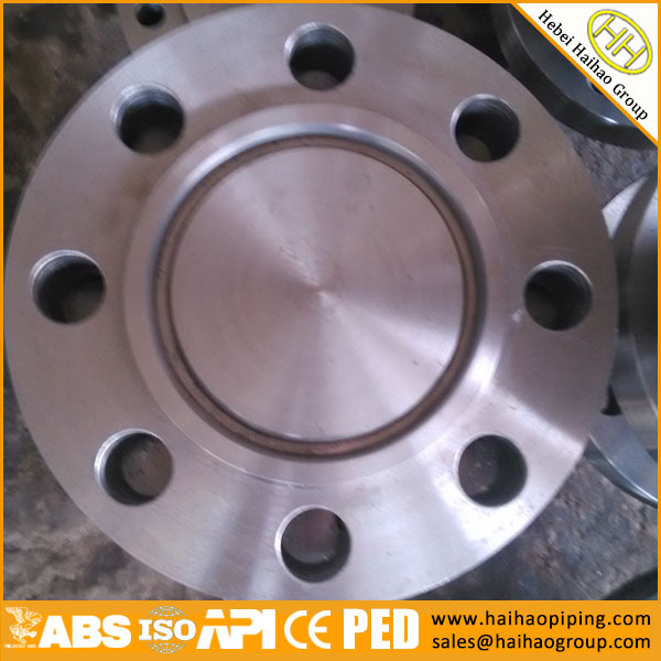 What is a blind flange?