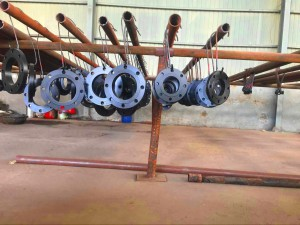 sale China manufacturer B16.47 series B forging flanges,CL300 600 carbon steel flanges