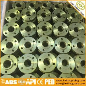 ANSI B16.5 CL150 SORF Flange, SOFF Flange ASTM A105N