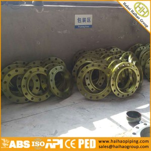 sale carbon steel oil-rust flanges, ANSI/ASME slip on forging flanges