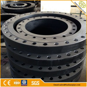 Export CL150 CL300 High quality ANSI B16.47 series A flanges, Forged carbon steel flanges