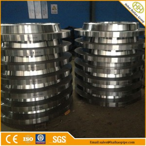 export high quality forging series A flanges, ANSI B16.47 carbon steel flanges