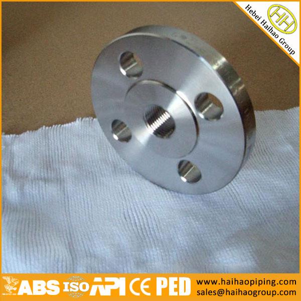 """1/2""""-24"""" UNI PN16 ASTM A182 F304 RF Threaded Flange"""