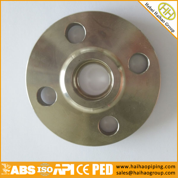 ANSI B16.5 1inch 300LB Stainless Steel Socket Weld Flange