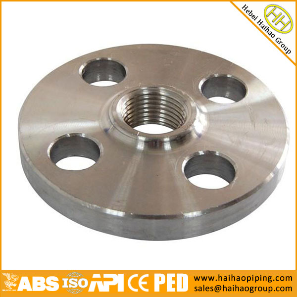 ANSI/ASME B16.5 Class 300Lbs 4INCH A182 F9 Threaded Flange