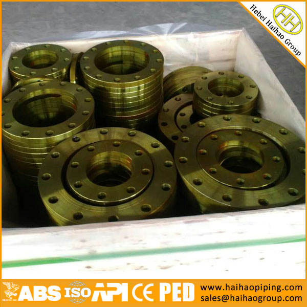 JIS B2220 Slip On Plate Flange In Haihao Group