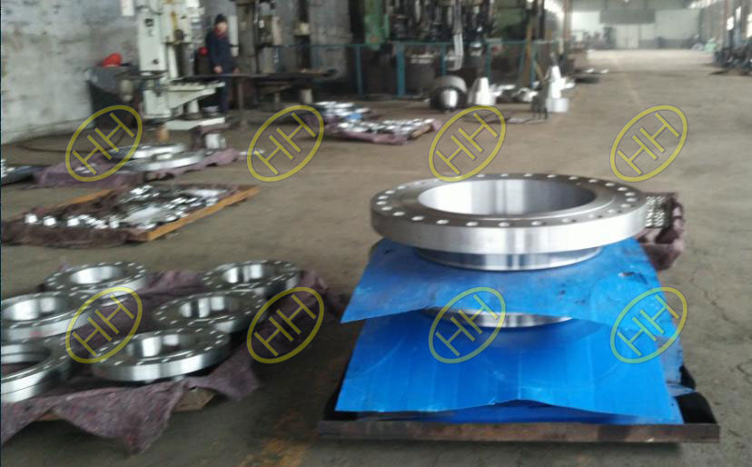 Forged Weld Neck Flanges Finished In Haihao Flange Factory