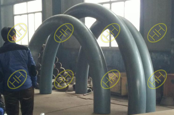 Haihao Factory Produce 180 Degree Pipe Bends For Pakistan Petro Pipeline