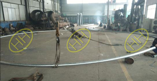 50D Radius Pipe Bends Used For Steel Structure Finished In Haihao Group
