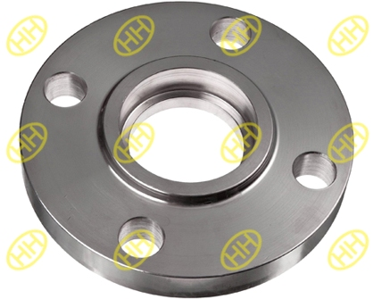 What are marine socket weld flanges?