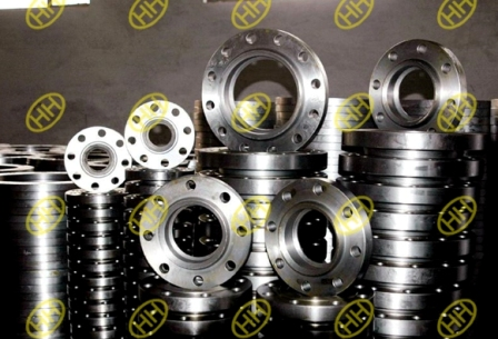 socket weld flange production in Haihao Flange Factory
