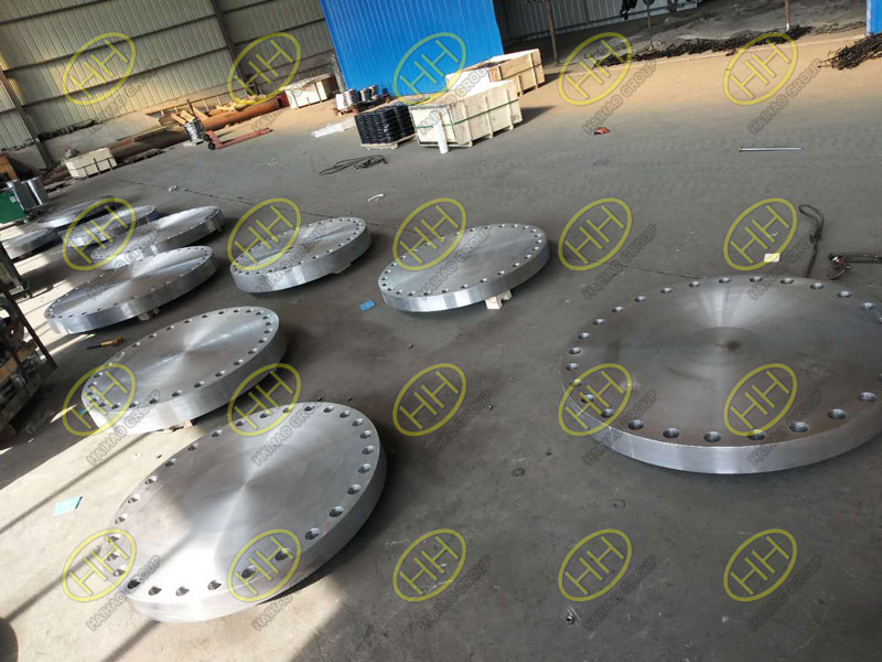ANSI B16.47 ASTM A105 blind flanges