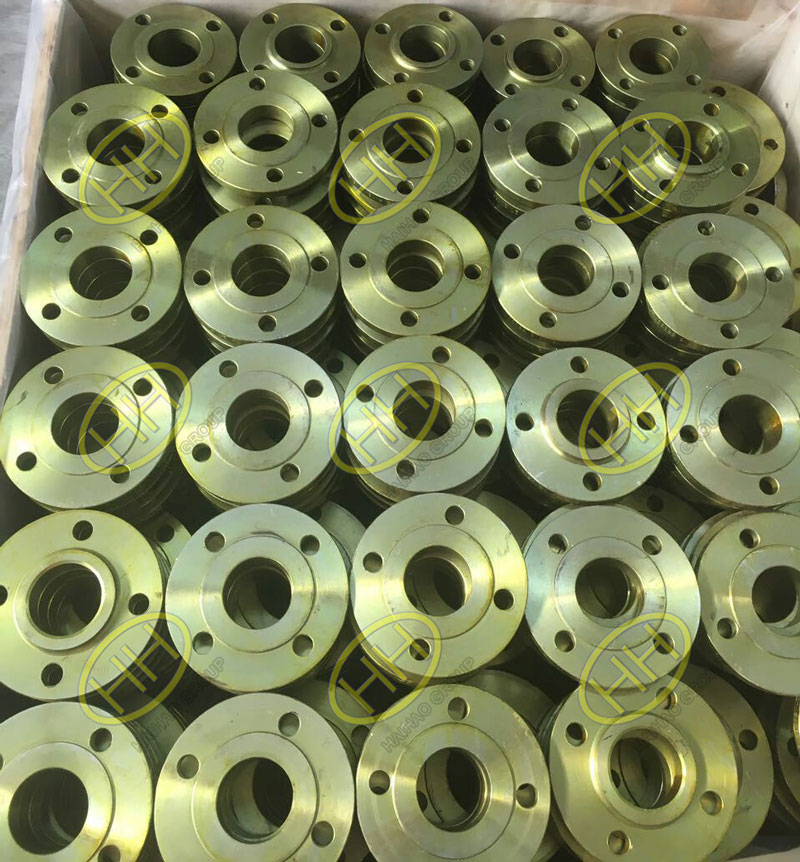 ANSI B16.5 A105 RF forged slip on flange