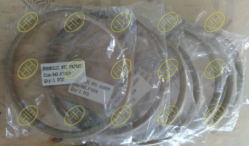 Flange insulation gasket type D finished in Haihao Group