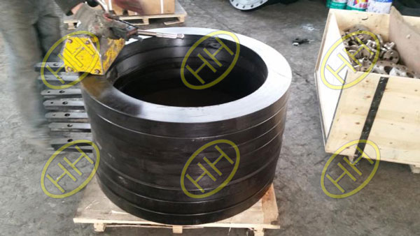 Haihao Flanage Factory finished ring spacers flanges