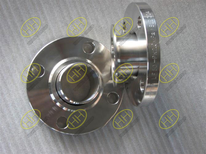 Slip on ring lap joint flange