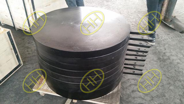 Spade flange finished in Haihao Group
