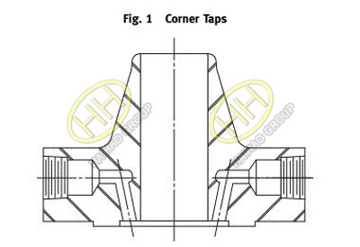 ASME B16.36-2015 Standard Orifice Flange Corner Taps