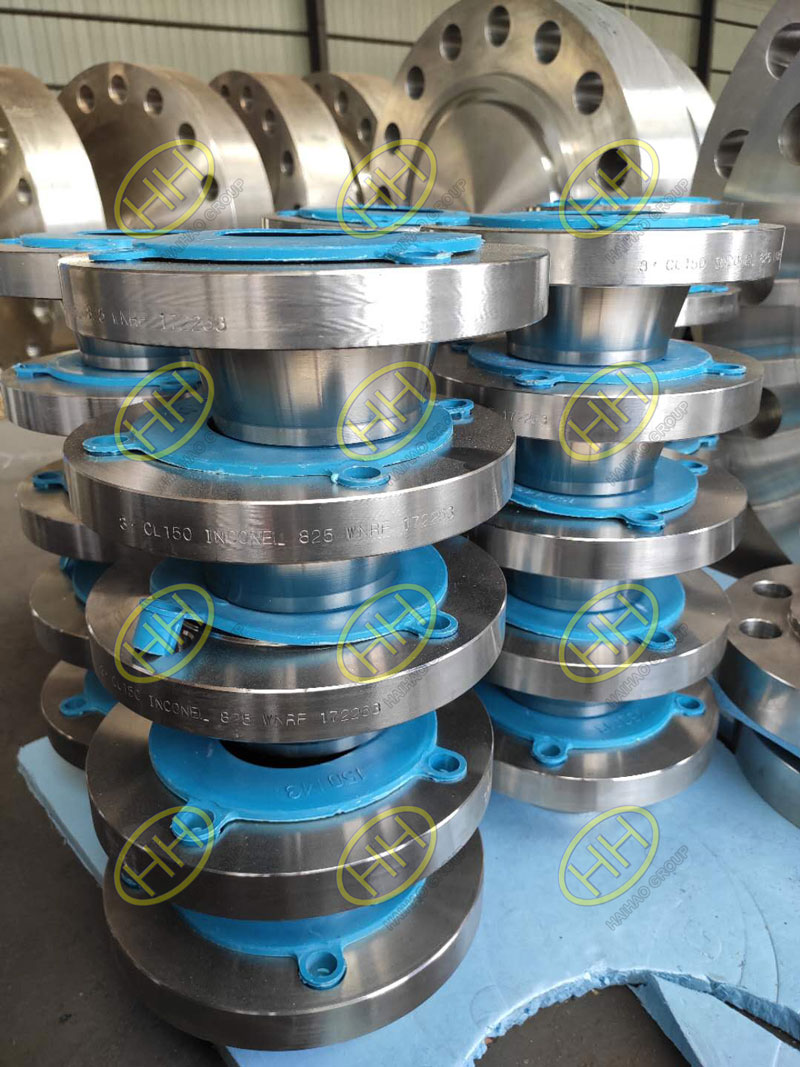 Inconel 825 RF weld neck flanges