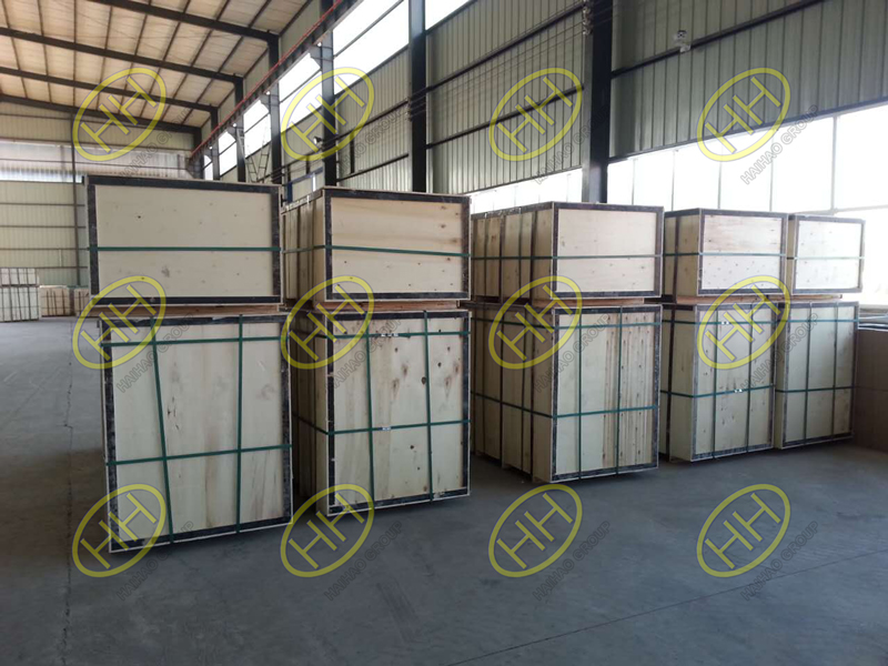 Plywood cases packing for piping products