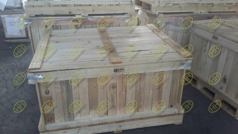 Wooden cases packing for piping products
