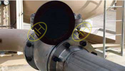 Carbon Steel Spectacle Blind Flange Application Pipeline Install