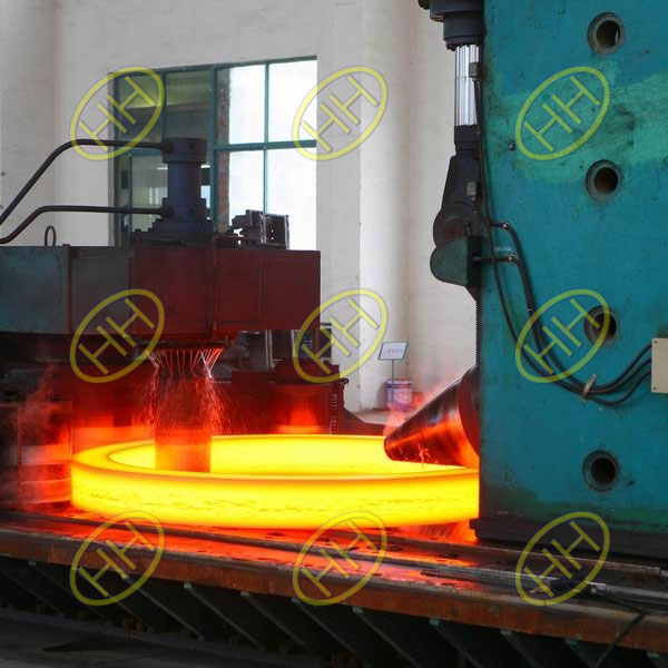 Forging Rolling Flange Production