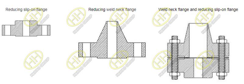 Type of reducing flange