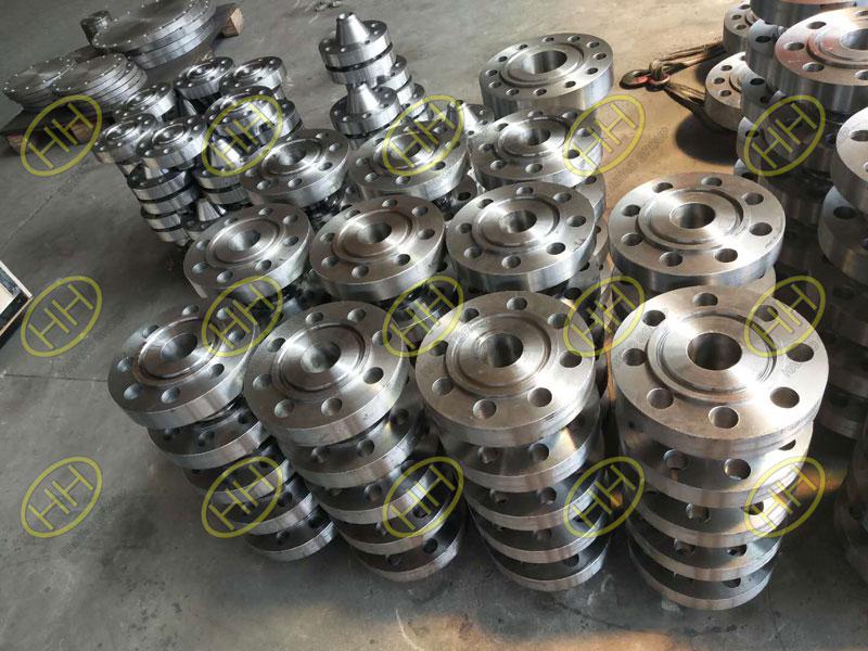 ANSI B16.5 A105N RTJ weld neck flanges
